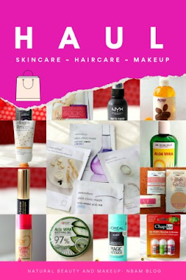 August 2019 Beauty, Skincare, haircare, Makeup Shopping Haul ON Natural Beauty And Makeup Blog