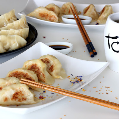 Illustration Gyoza Crevette