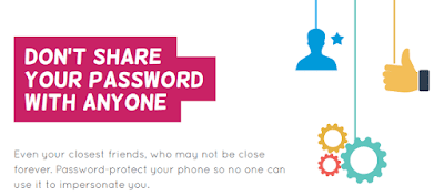 Don't share your password