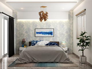 bedroom design ceiling pop