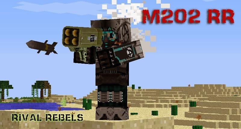 Rival Rebels M202 Rocket Launcher Minecraft Mod