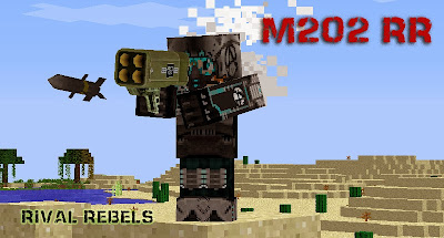 M202 RR Minecraft Rocket Launcher weapon