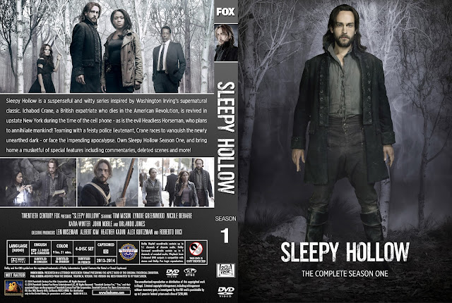 Sleepy Hollow Season 1 DVD Cover