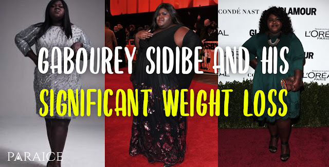 Gabourey Sidibe and his significant weight loss
