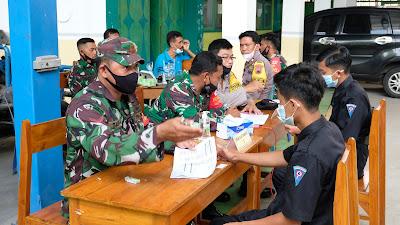 SMK Patriot Pituruh Gandeng Kodim 0708 Purworejo Gelar Vaksinasi