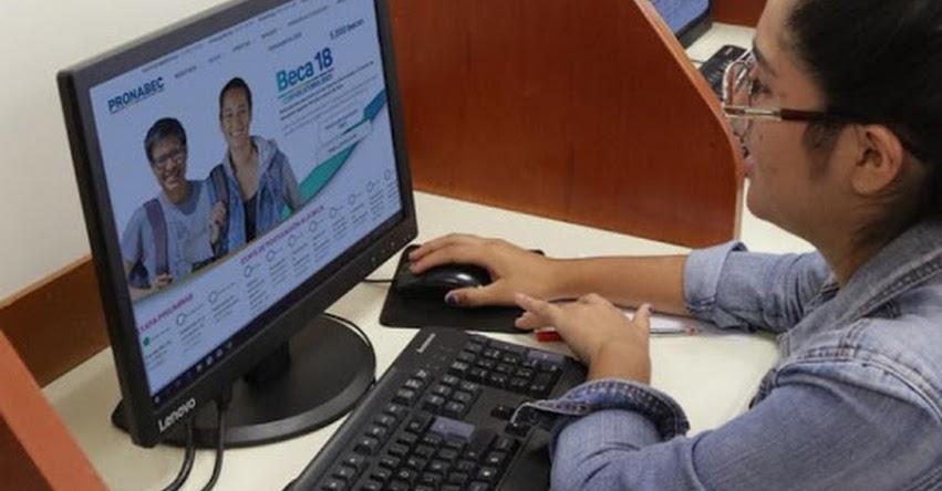 PRONABEC: Inscripciones a BECA 18 - 2021 hasta el 7 de diciembre - www.pronabec.gob.pe