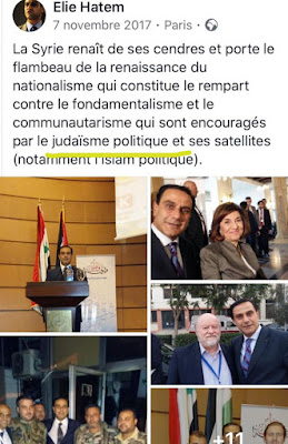 Elie Hatem, Emmanuel Macron