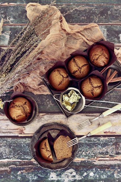 muffinka z dynią i cynamonem
