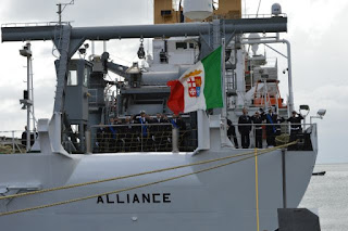 Italian Navy is one of the four branches of the Italian Armed Forces. From 1861 to 1946 it was known as the Regia Marina and from 1946 to the present it is known as the Marina Militare. The Italian Navy had a strength of 30,923 active personnel. The Italian Navy currently has 184 ships in operation.
