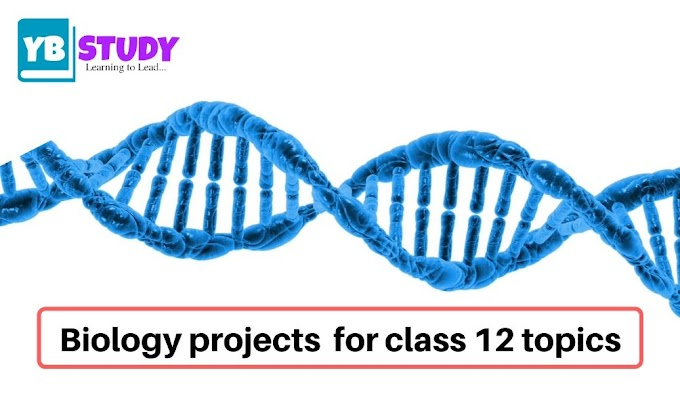 Biology projects for class 12 topics