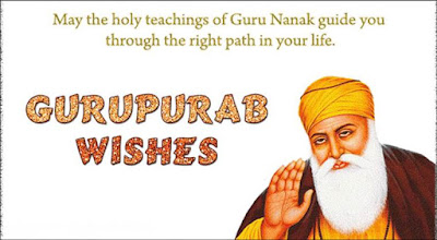 Wish You Happy Gurupurab Of Guru Nanak Dev Ji
