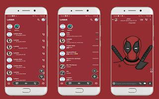 Deadpool 3 Theme For YOWhatsApp & Delta WhatsApp By Leidiane