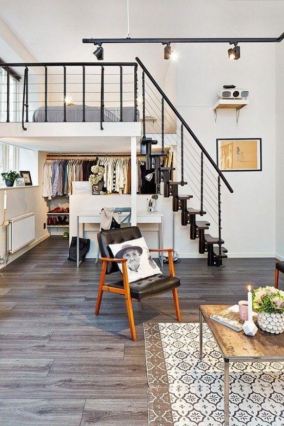 Loft Bedroom Design Idea