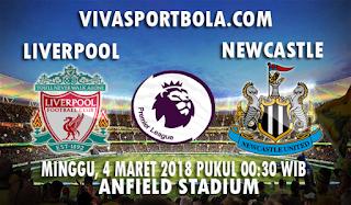 Prediksi Liverpool vs Newcastle United 4 Maret 2018