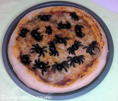 Pizza Halloween - Ricetta per Halloween