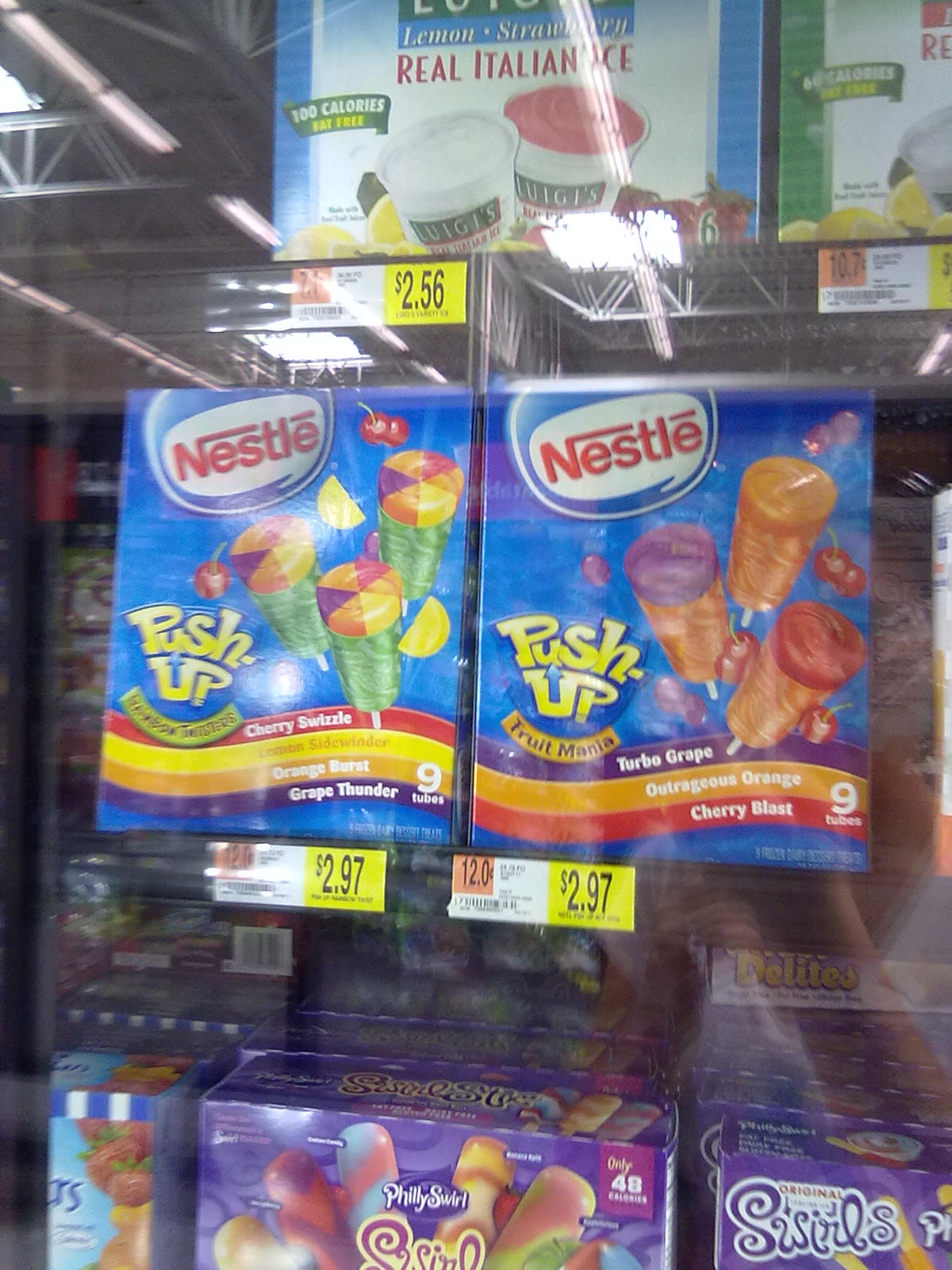 Ice Push Ups Nestle Cream