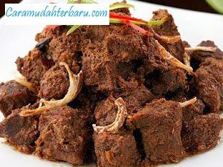 Cara Membuat Rendang Daging Sapi Masak Kering Dengan Mudah dan Enak
