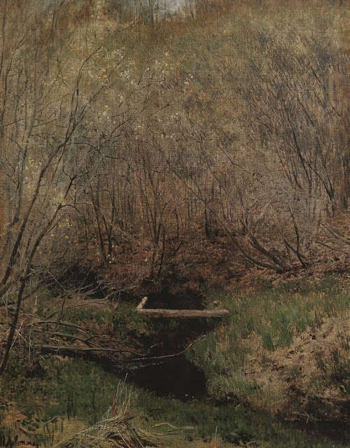 Исаак Ильич Левитан - Весной в лесу. 1882