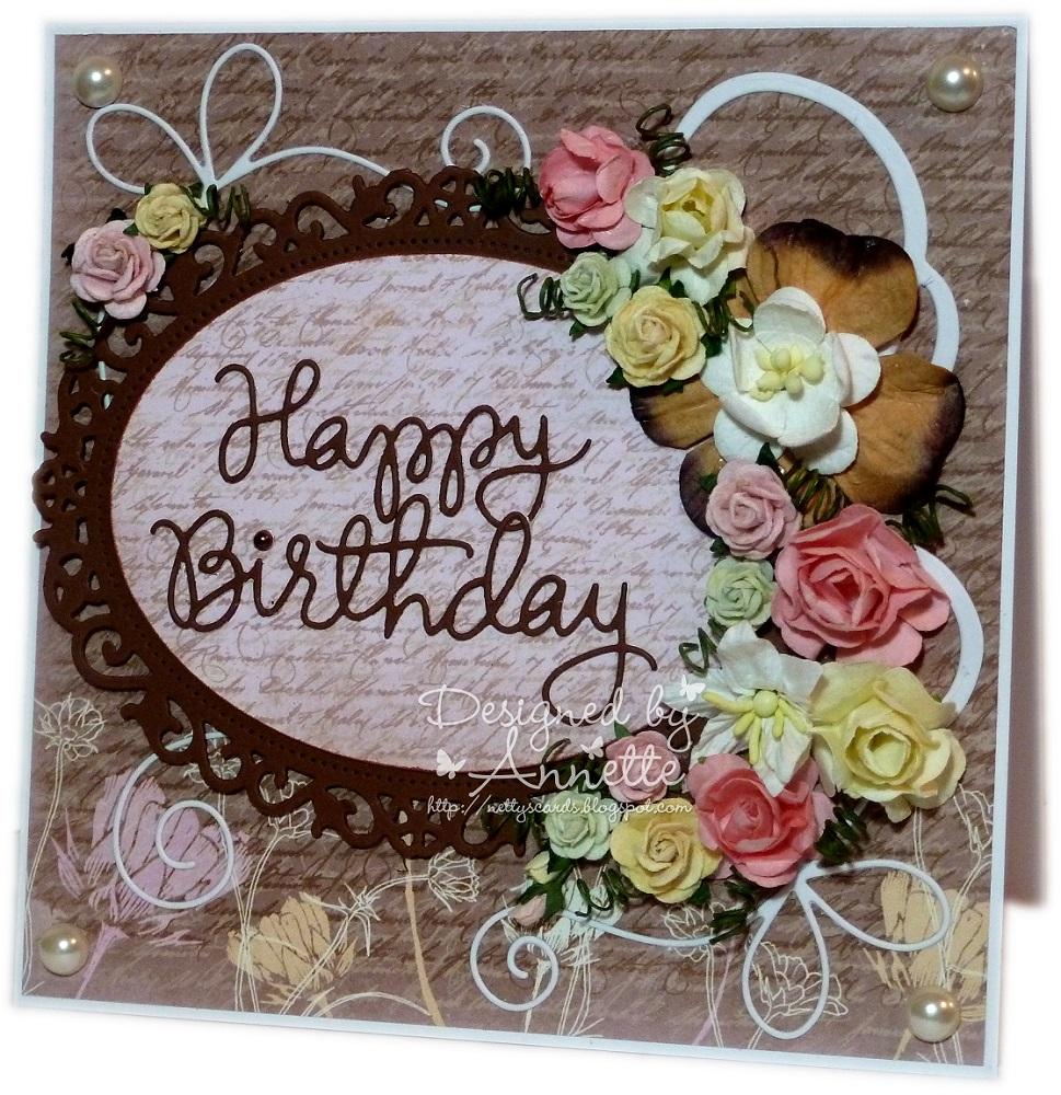Nettys Cards Happy Birthday