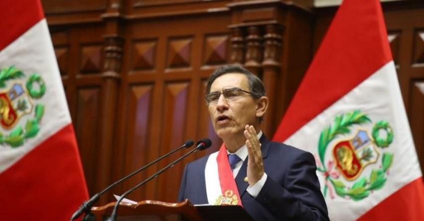 MENSAJE PRESIDENCIAL: Presidente Vizcarra dará hoy Mensaje a la Nación por Fiestas Patrias a las 11:00 horas (28 Julio 2020)