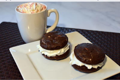 Whoopie Pies, chocolate dessert, holiday dessert, cookie exchange ideas, delicious desserts, Christmas Whoopie Pies