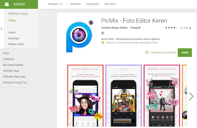 Aplikasi PicMix
