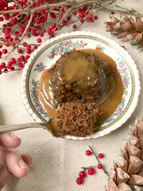 Sticky toffee pudding is a rich, light textured cake, served warm with a decadent toffee sauce. It really is a special treat that isn't overly complicated to make.