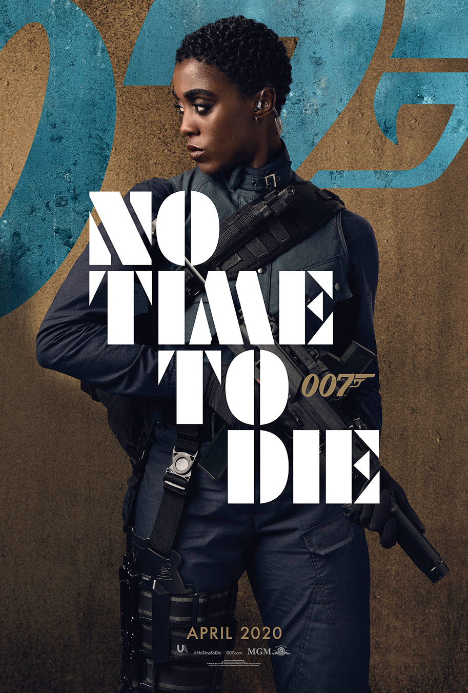 NO TIME TO DIE POSTER (#7 OF 12) - OKAY BHARGAV