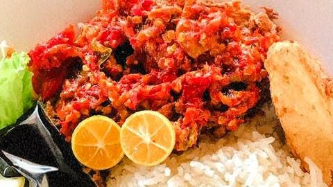 Resepi & Cara Masak Nasi Ayam Geprek Pedas Tetap Lazat Sedap COD Food Delivery