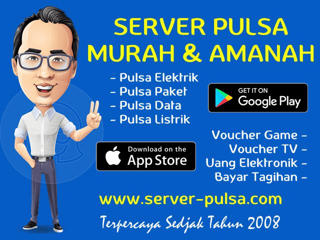 Server-Pulsa.com Web Resmi Distributor Pulsa Murah All Operator Nasional