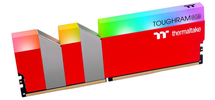 Thermaltake TOUGHRAM XG RGB arka ışığı