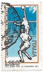 Selo Campeonato Mundial de Voleibol Masculino de 1978