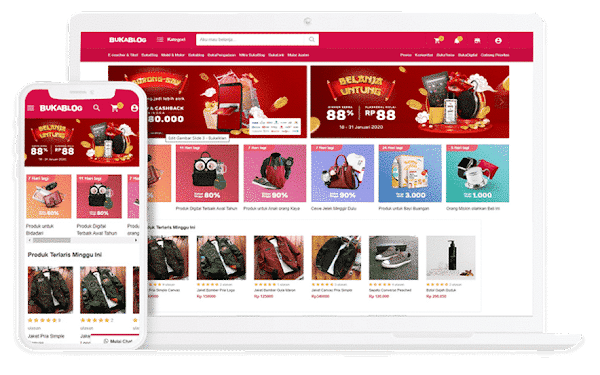 [Themeidn] BukaBlog Shopping Blogger Template