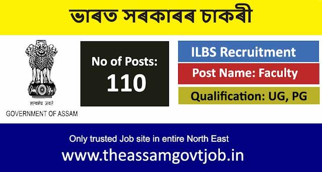 ILBS Recruitment 2020 @ ilbs.in the assam govt job