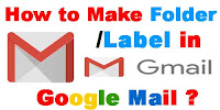 how to create label in gmail account