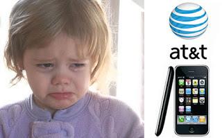 AT&T crying