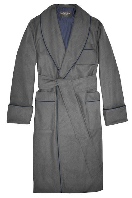 mens wool robe smoking jacket warm dressing gown floor length extra long big tall size cashmere housecoat pajamas bathrobe