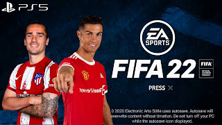 FIFA 22 Mobile Latest Version (Apk+Obb+Data) Griezmann In A.Madrid