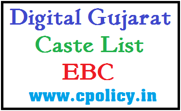 CASTE LIST FOR EBC CATEGORY IN PDF DOWNLOAD