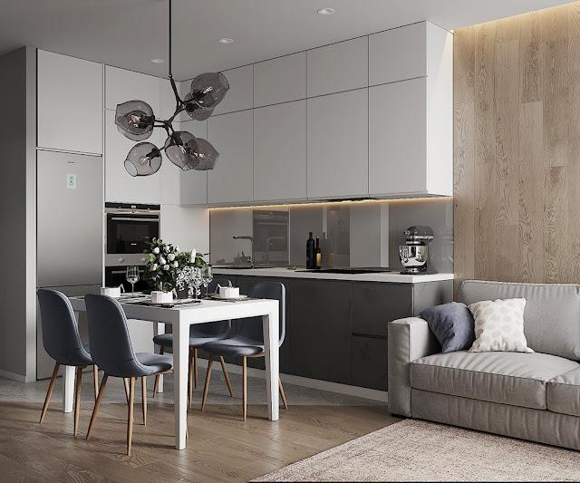 Những mẫu thiết kế nội thất căn hộ chung cư hiện đại P1