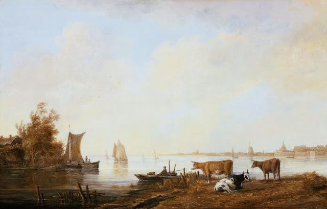 Альберт Кёйп - Вид Мааса близ Дордрехта. ок1645