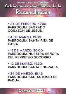 24-II-21, celebración comunitaria de la penitencia