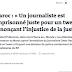 Tribune: Le Monde « Un journaliste est emprisonné juste pour un tweet dénonçant l'injustice de la justice »