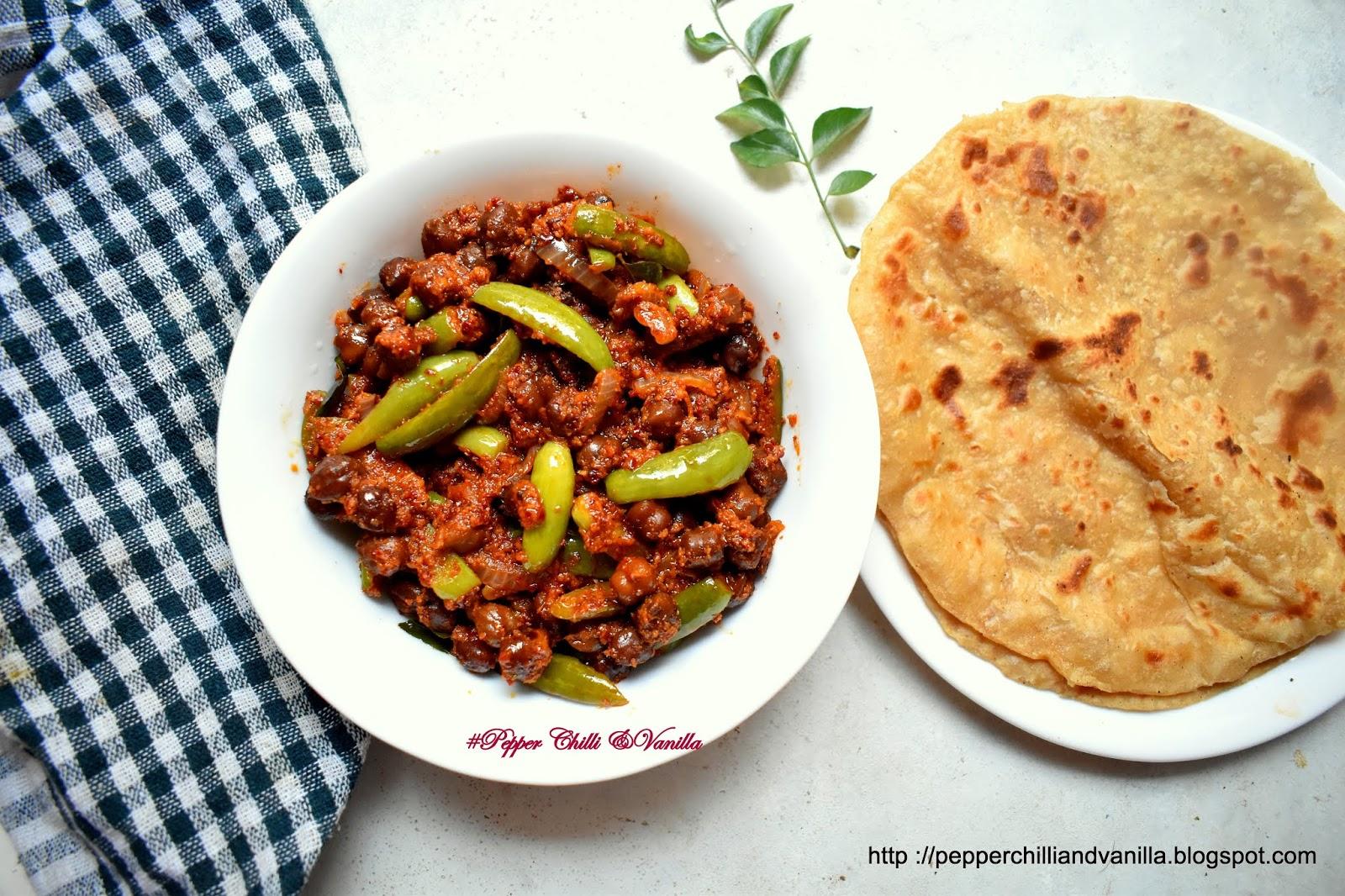easy tendli chana recipe,melgor ,ivy gourd chana
