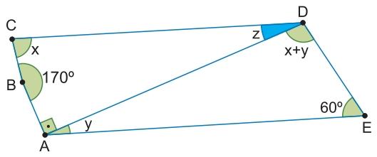 ângulos internos de um quadrilátero