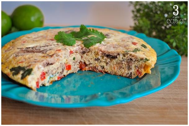 omelete de sardinha receita