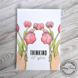 Rachel Vass Designs - Handfull Of Tulips