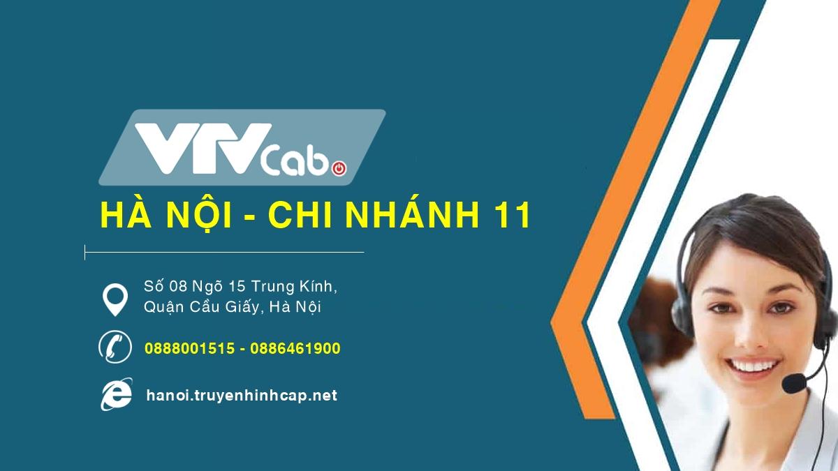 VTVCab Hà Nội chi nhánh 11 - Quận Cầu Giấy