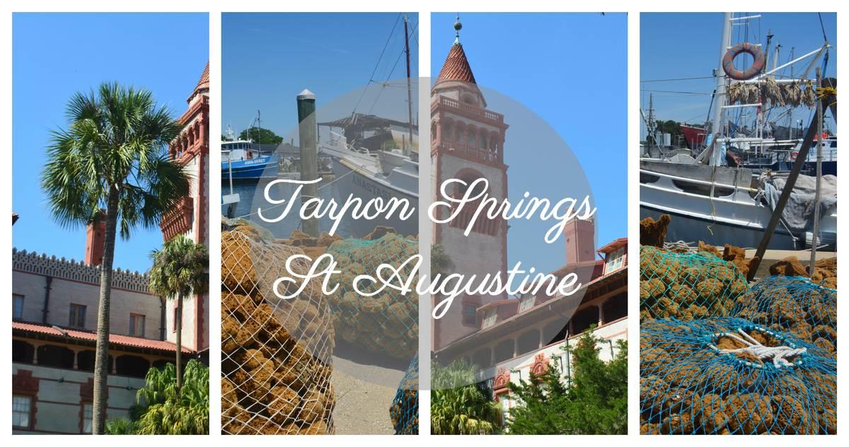 Tarpon Springs et Saint Augustin Floride