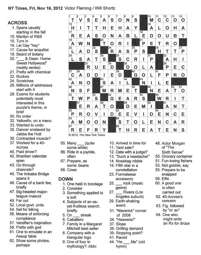 Crossword Clues Starting With T The Crossword Solver